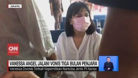 VIDEO: Vanessa Angel Jalani Vonis 3 Bulan Penjara