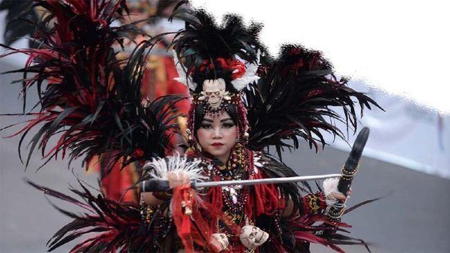 Jember Fashion Carnaval menggelar World Kids Carnival yang diikuti oleh anak-anak dari seluruh dunia, di tengah pandemi Covid-19.