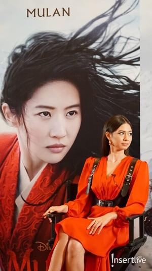 Luna Maya Yuki Kato Dan Dion Wiyoko Jadi Dubber Film Mulan Foto 1