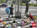 FOTO : Aksi Peringatan Hari Anak Sedunia di Monas