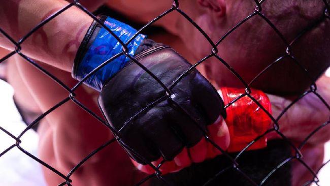 Deiveson Figueiredo berhasil mempertahankan sabuk kelas terbang miliknya usai menang submission atas Alex Perez di UFC 255.