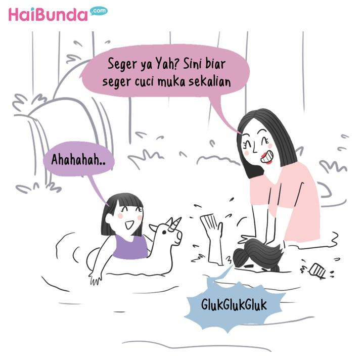 Komik HaiBunda Liburan