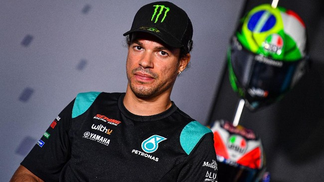 MotoGP Prancis: Morbidelli Jatuh Saat Ganti Motor di Pit Lane