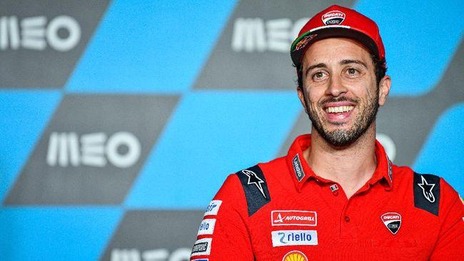 Andrea Dovizioso resmi melakukan debut bersama Aprilia RS-GP 2021 sebagai pembalap penguji di Sirkuit Jerez, Spanyol, beberapa jam yang lalu.