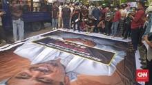 Marak Kerumunan Penolak Rizieq, Polri Sebut Demokrasi