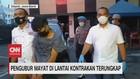 VIDEO: Pengubur Mayat di Lantai Kontrakan Terungkap