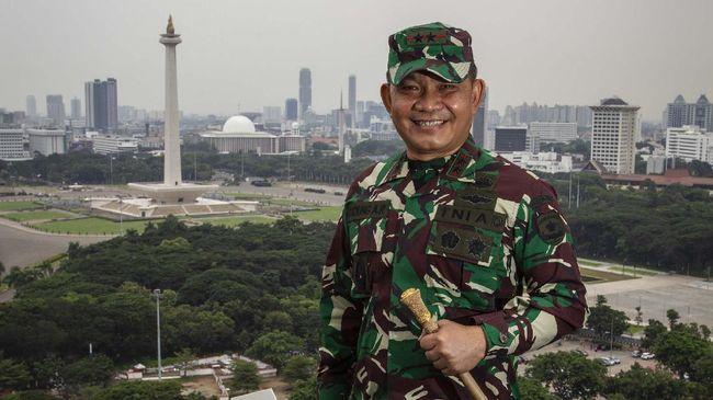 Pangdam Jaya Mayjen TNI Dudung Abdurrachman mengatakan pihaknya hanya mewaspadai ucapan dan tindakan Rizieq Shihab yang berpotensi membahayakan persatuan NKRI.