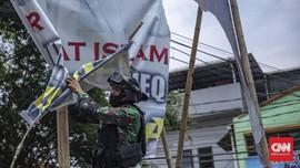 Pangdam Jaya Sebut Penurunan Baliho atas Permintaan Satpol PP