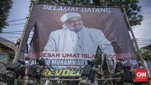 Polri Tak Temukan Perbuatan Melawan Hukum di Baliho Rizieq