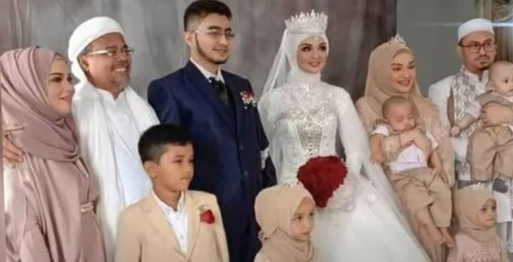 Pernikahan Syarifah Najwa Shihab dan Irfan Alaydrus