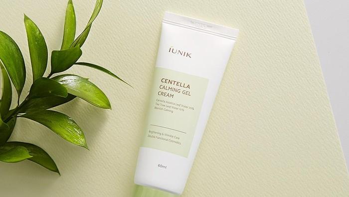 Review Iunik Centella Calming Gel Cream, Menenangkan Kulit Iritasi