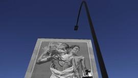 FOTO: Seni Mural San Paolo Perjuangkan Hak LBGTQ+