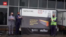 VIDEO: 120 ribu Vaksin Covid-19 Coronavac Tiba di Brasil