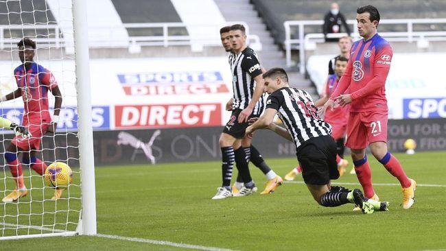 Chelsea berhasil mengalahkan tuan rumah Newcastle United 2-0 dalam lanjutan Liga Inggris pekan ke-9, Sabtu (21/11) malam WIB.