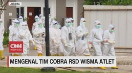 VIDEO: Mengenal Tim Cobra RSD Wisma Atlet