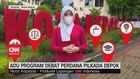 VIDEO: Adu Program Debat Perdana Pilkada Depok