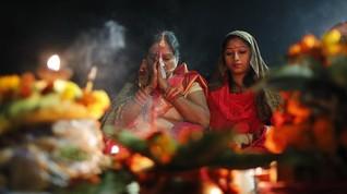 Penduduk Desa India Bangun Kuil Dewi Corona Usir Covid