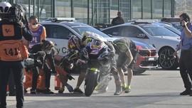Espargaro Ribut dengan Zarco di MotoGP Portugal