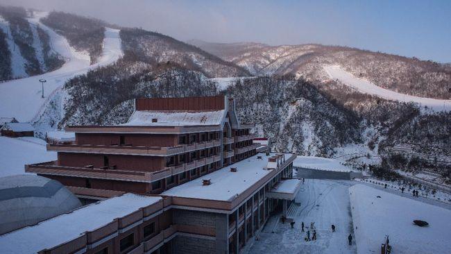 Masikryong merupakan proyek ambisius Kim Jong-un demi mendatangkan turis dan penggemar ski di musim dingin.