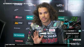 VIDEO: Morbidelli Rebut Start Kedua MotoGP Portugal