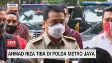 VIDEO: Ahmad Riza Penuhi Panggilan Polda Metro Jaya