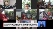 VIDEO: Denada Latih Zumba untuk Anak Pejuang Kanker