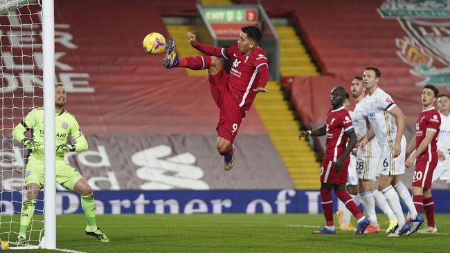 Liverpool sukses menghajar Leicester City 3-0 pada lanjutan Liga Inggris yang digelar di Stadion Anfield, Senin (23/11) dini hari WIB.