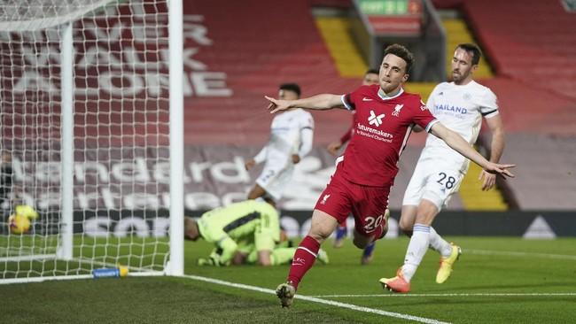 Tanpa diperkuat beberapa pemain utama, Liverpool meraih kemenangan meyakinkan atas Leicester City, Senin (23/11) dini hari.