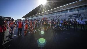 FOTO: Balapan Terakhir Rossi dengan Yamaha di MotoGP
