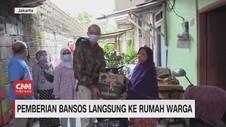 VIDEO: Pemberian Bansos Langsung ke Rumah Warga