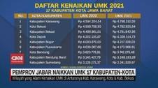 VIDEO: Pemprov Jabar Naikkan UMK 17 Kabupaten-Kota