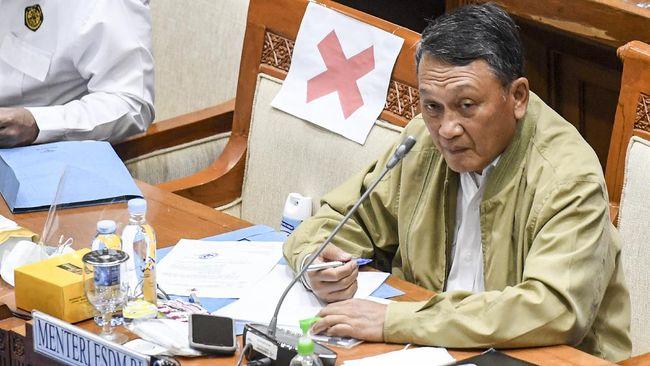 Menteri ESDM Arifin Tasrif merespons kabar Wakil Bupati Sangihe Helmud Hontong sempat mengirim surat penolakan Izin Usaha Pertambangan.
