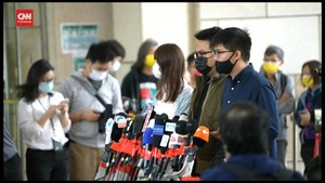VIDEO: Joshua Wong Mengaku Bersalah soal Demo Hong Kong