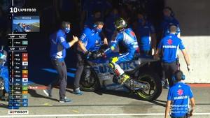 VIDEO: Akhir Memalukan Joan Mir di MotoGP 2020
