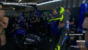 VIDEO: Perpisahan Rossi dengan Yamaha Usai MotoGP Portugal
