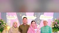 <p>Acara semakin meriah karena dihadiri keluarga dan kerabat dekat Zaskia, dan Sirajuddin. (Foto: Instagram @yantiadeni) </p>