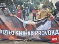 Warga Bekuk Pemasang Spanduk Tolak Rizieq, Polisi Lepaskan