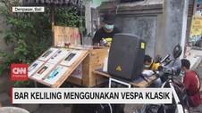 VIDEO: Bar Keliling Menggunakan Vespa Klasik