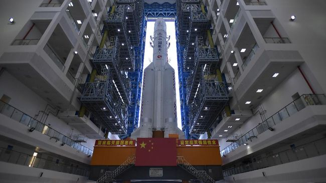 Lembaga Antariksa China CNSA punya banyak misi ambisus seperti mengambil batu di bulan hingga bangun stasiun luar angkasa.