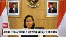 VIDEO: Jumlah Pengangguran di Indonesia Naik 2,67 Juta Orang