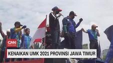 VIDEO: Kenaikan UMK 2021 Provinsi Jawa Timur