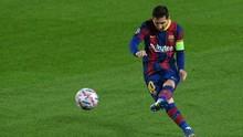 Barcelona Bela Selebrasi Messi untuk Maradona