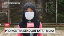 VIDEO: Pro Kontra Sekolah Tatap Muka