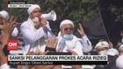 VIDEO: Sanksi Pelanggaran Prokes Acara Rizieq