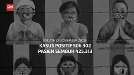 VIDEO: 24 November, Pasien Sembuh Capai 425 Ribu