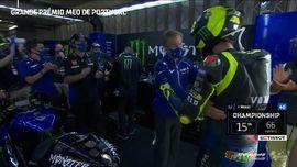 VIDEO: Perpisahan Dovizioso dan Rossi di MotoGP Portugal