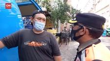 VIDEO: Razia Masker Diwarnai Aksi Protes Pengendara