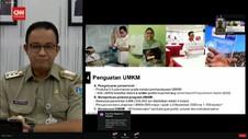 VIDEO: Anies Klaim Pemprov DKI Terbitkan 105 Ribu Izin UMKM