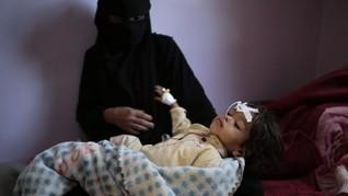 FOTO: Yaman Terancam Kelaparan Terburuk Akibat Perang