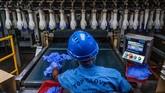 Top Glove Corp. Malaysia, pembuat sarung tangan karet terbesar dunia harus menutup setengah pabrik mereka karena pekerja terkena dampak corona.